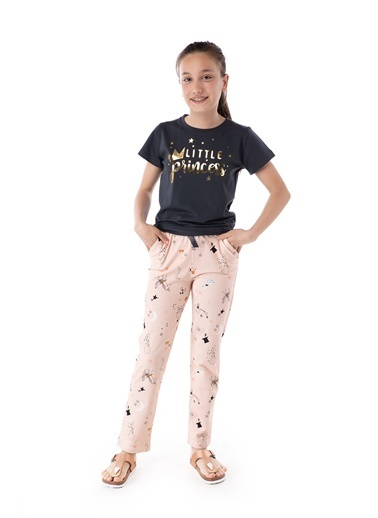 Pamuk & Pamuk Little Princess Genç Kız Pijama Takım Renkli